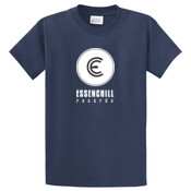 Essenchill Tee White Logo